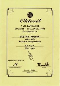 Bognár Andrea arany 001