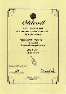 Drávucz Beáta arany 001